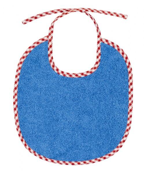 Efie Lätzchen klein blau, kontrolliert biologischer Anbau (organic), Made in Germany