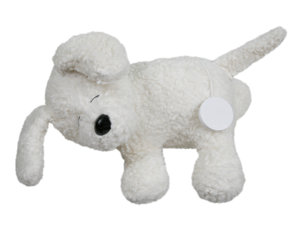 Efie Spieluhr Hund, kontrolliert biologischer Anbau (organic), Made in Germany