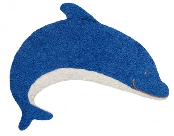Efie Kirschkern-Wärmekissen Delfin, kontrolliert biologischer Anbau (organic), Made in Germany