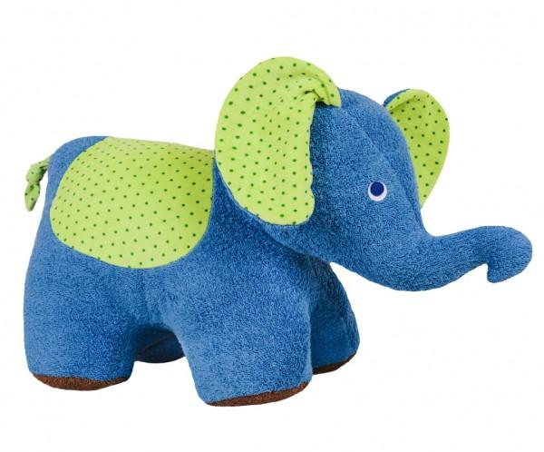 Efie Sitz & Spiel Elefant XXL, kontrolliert biologischer Anbau (organic), Made in Germany