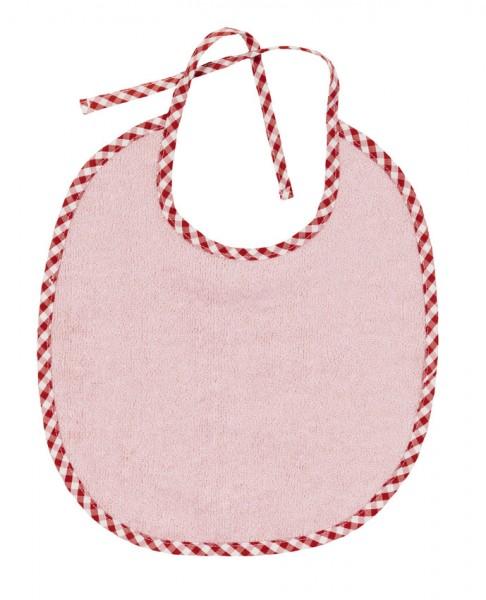 Efie Lätzchen groß rosa, kontrolliert biologischer Anbau (organic), Made in Germany