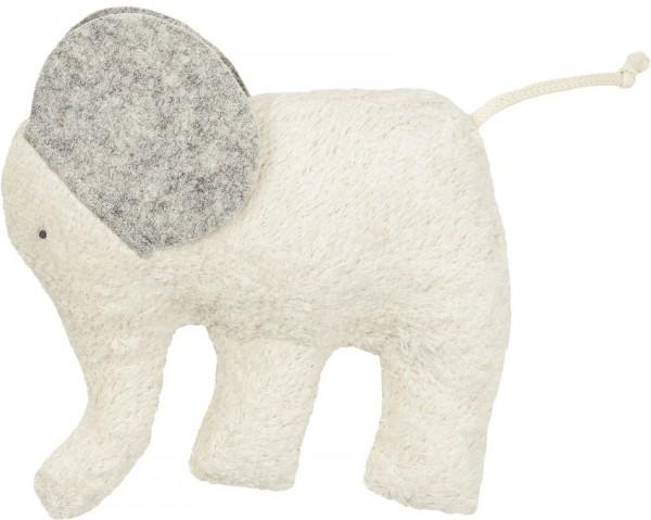 Efie Kuschel Elefant Filz, kontrolliert biologischer Anbau (organic), Made in Germany