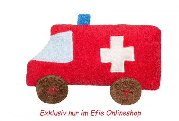 Efie Auto/Ambulanz, kontrolliert biologischer Anbau (organic), Made in Germany