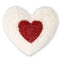 Efie Dinkel-Wärmekissen Herz rot, kontrolliert biologischer Anbau (organic), Made in Germany