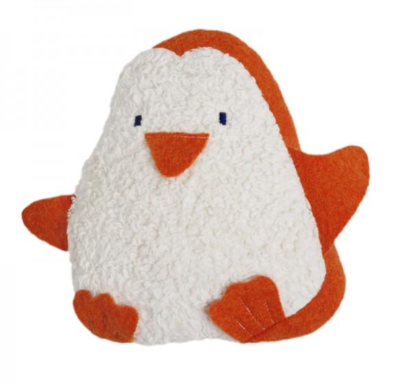 Efie Kirschkern-Wärmekissen Pinguin, kontrolliert biologischer Anbau (organic), Made in Germany