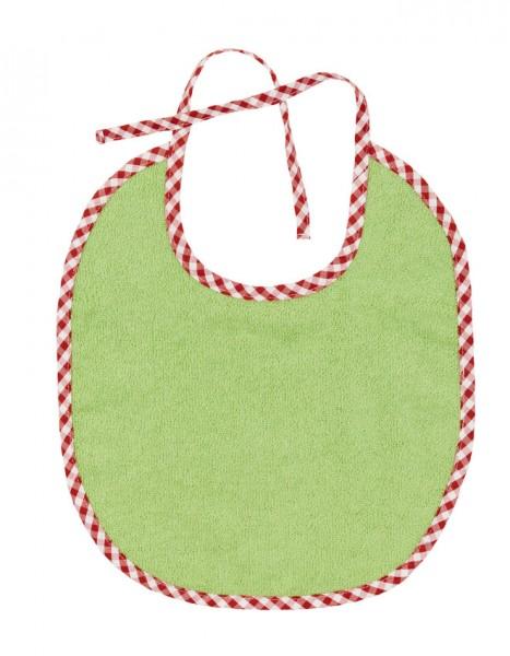 Efie Lätzchen klein grün, kontrolliert biologischer Anbau (organic), Made in Germany
