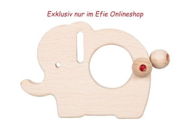 Efie Holz Elefant, unbehandeltes Buchenholz aus FSC Waldwirtschaft, Made in Germany