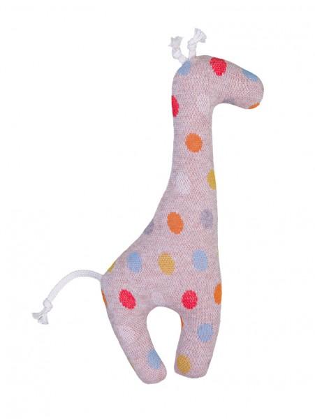 Efie Rassel Giraffe, Pünktchen, Made in Germany
