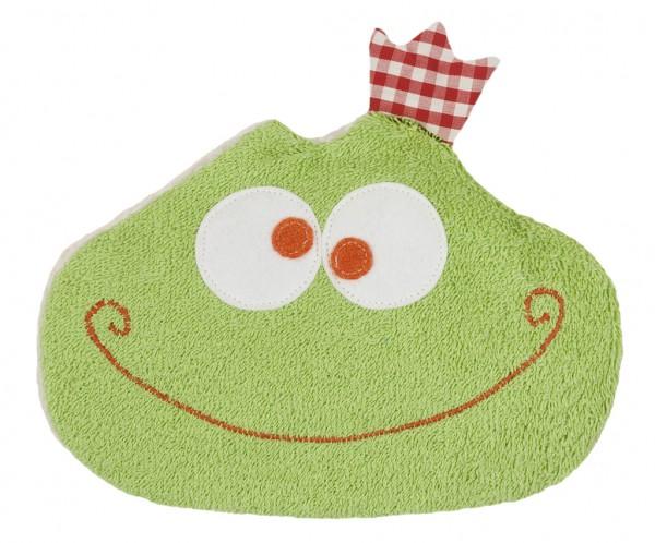 Efie Kirschkern-Wärmekissen Frosch, kontrolliert biologischer Anbau (organic), Made in Germany