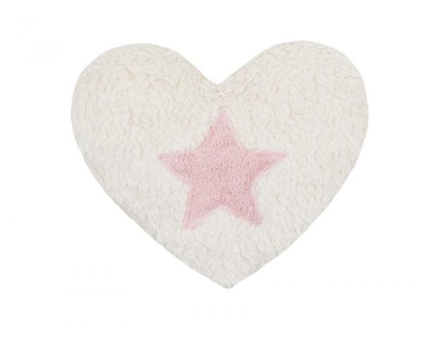 Efie Dinkel-Wärmekissen Stern rosa, kontrolliert biologischer Anbau (organic), Made in Germany