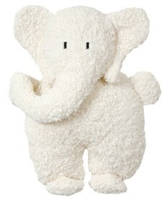 Efie Kuscheltier/Kissen Elefant L, Made in Germany